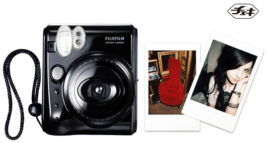 Instax mini50S Cheki Piano Black