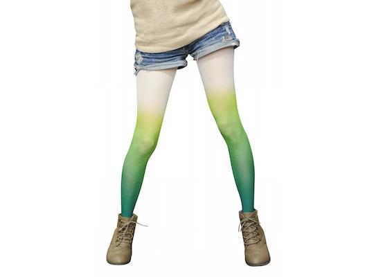 Negi-tai Tights Green Onion Stockings