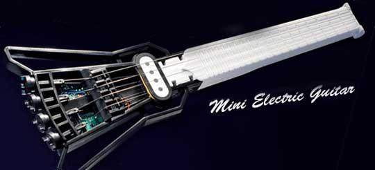 Japan Trend Shop | Gakken Mini Electric Guitar