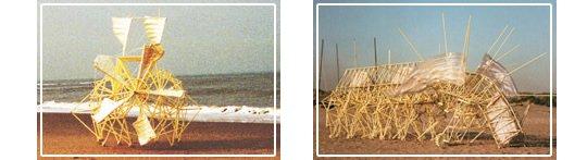 Theo Jansen Mini Strandbeest Modell von Gakken