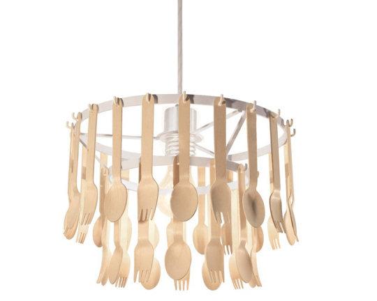 Gita Spoon and Fork Lamp