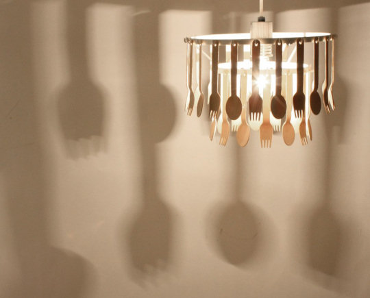 Gita Spoon and Fork Lamp