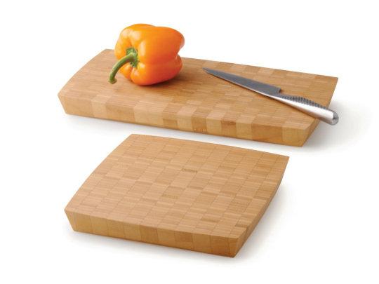 Grid Bamboo Cutting Board