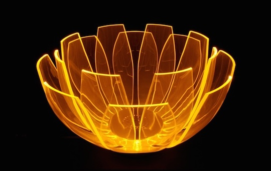Lotus Flower LED Table Lamp
