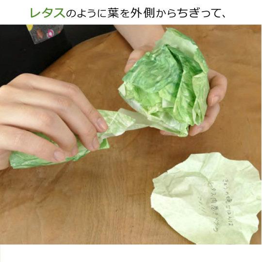 Tokyo Kakeru Lettuce Notepad