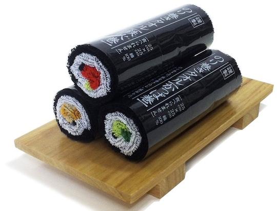 Norimaki Sushi Roll Towel Gift Set
