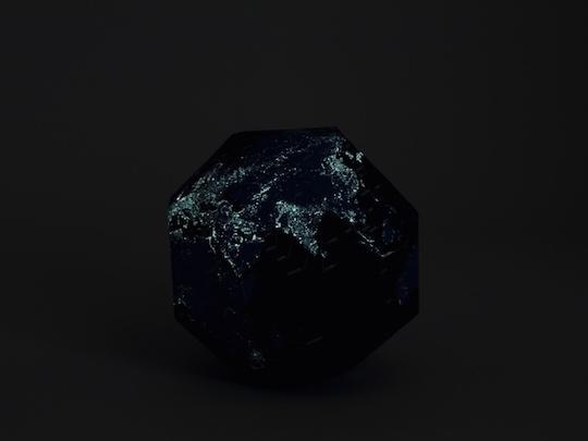 Geografia World at Night Globe