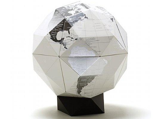 Geografia Platinum Geodesic Globe