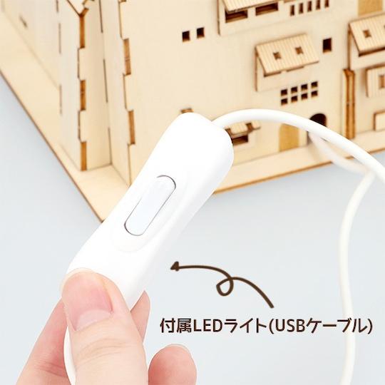 Ki-Gu-Mi Spirited Away Bathhouse Wooden Model Kit