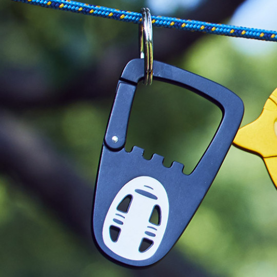 Spirited Away No-Face Carabiner