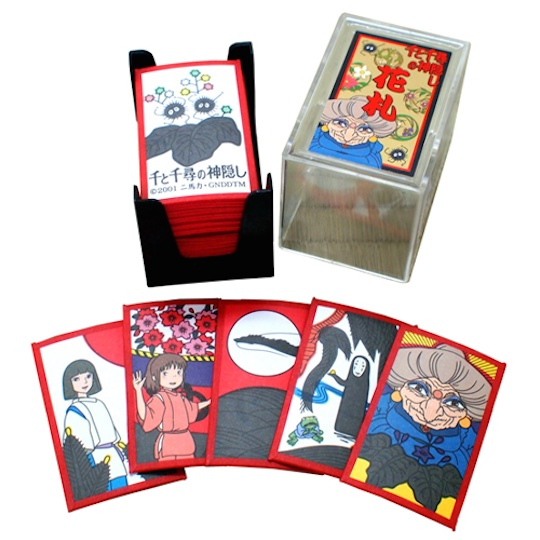 Spirited Away Hanafuda Card Set