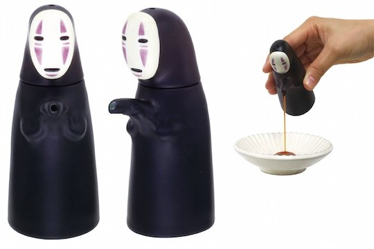 Spirited Away No-Face (Kaonashi) Soy Sauce Bottle