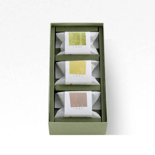 Gion Tsujiri Tea Soap Set