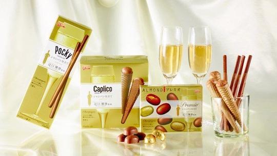 Champagne Pocky, Almond Premio, Caplico