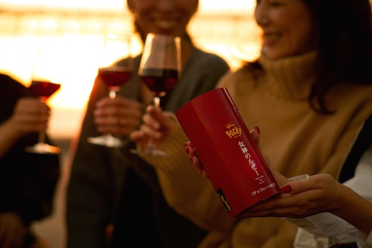 Pocky Megami no Ruby Chocolate for Red Wine