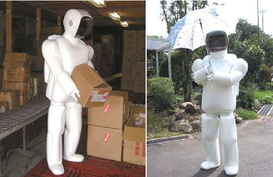 ASIMO Robot Costume Suit