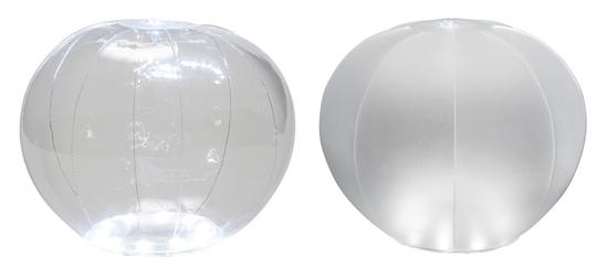 Green House Beach Ball Inflatable Waterproof LED Solar Lantern