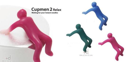 Cupmen 2 Relax Fertignudel Figuren-Set
