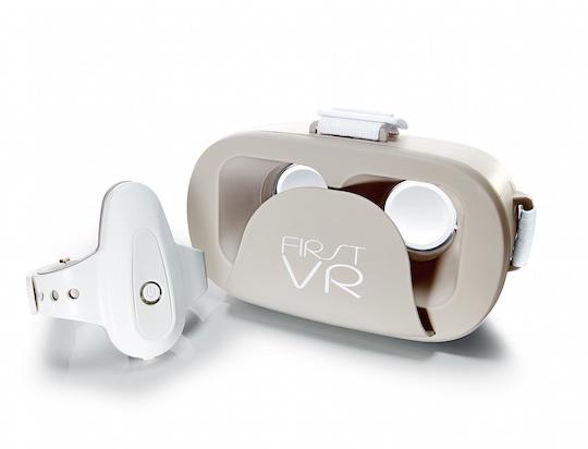 FirstVR Virtual Reality Headset UnlimitedHandLite Controller Set