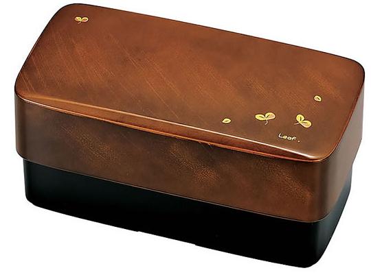 japan trend shop hakoya men 39 s leaf bento lunchbox. Black Bedroom Furniture Sets. Home Design Ideas