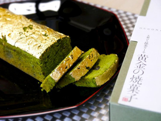 Dainagon Gold Matcha Cake