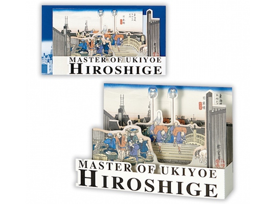 Master of Ukiyoe 3D Greetings Cards