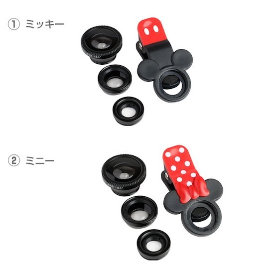 Disney Mickey Mouse, Minnie Mouse Phone Camera Lens Clip