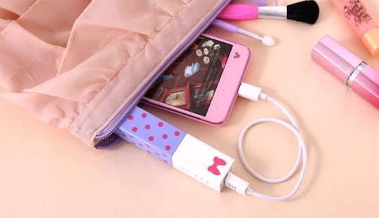 Disney Lipstick Phone Charger