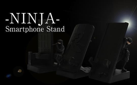 Ninja Smartphone Stand