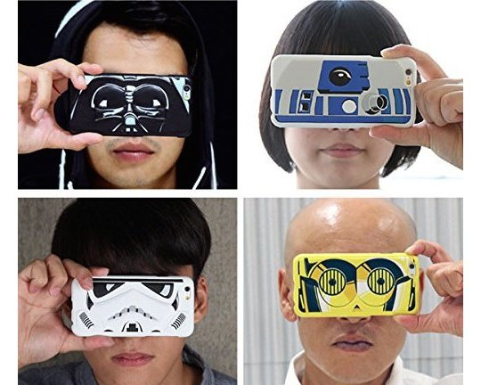 Star Wars Transform iPhone 6 Eye Case Cover