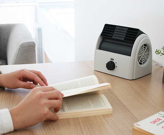 Plus More Compact Desk Fan