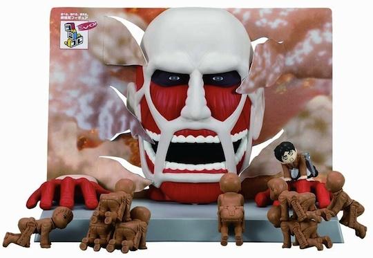 Tsumikore EVO! Attack on Titan Mania Game