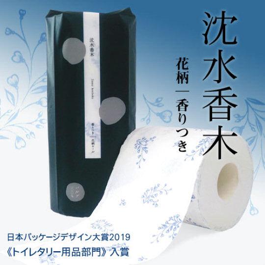 Jinsui Kouboku Driftwood Scent Luxury Toilet Paper (6 Rolls)