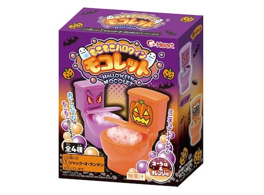 Moko Moko Halloween Mokolet Candy Toilet
