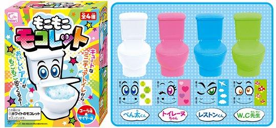 Moko Moko Mokolet Candy Toilet