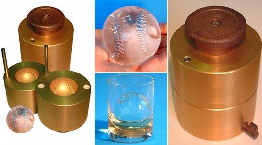 Eiswürfel-Schmelze Baseball 65mm