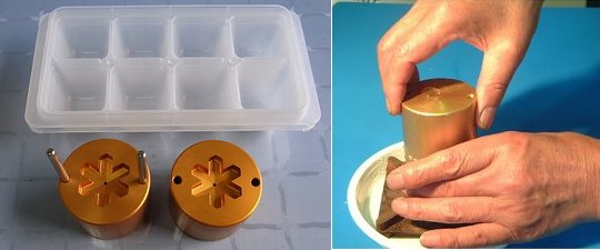 Ice Ball Mold Snow Flake Maker