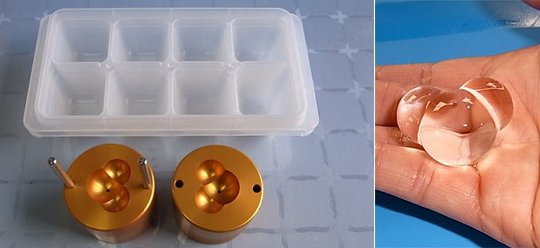 Ice Ball Mold 30mm Water Molecule Maker