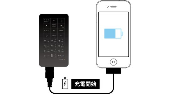iTwins iPhone Keypad Battery