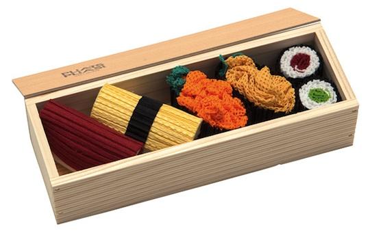 Sushi Pleats Please Issey Miyake