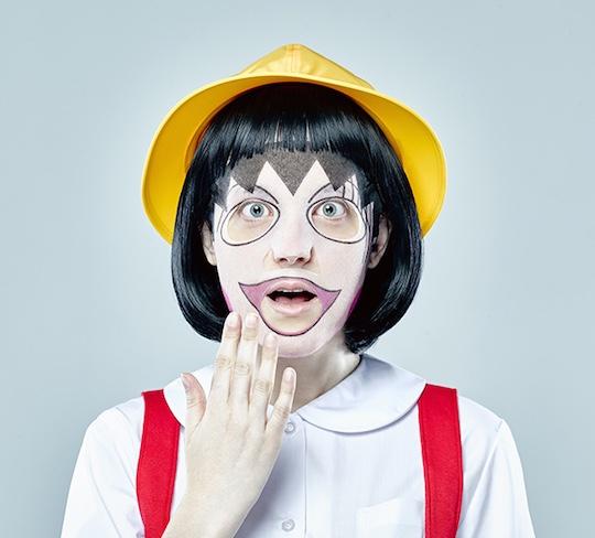 Chibi Maruko-chan Face Pack (Three Pack)