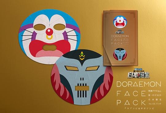 Doraemon: Nobita and the Birth of Japan 2016 Face Packs