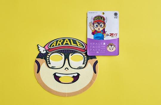 Dr. Slump Arale Norimaki Face Pack (3 Pack)
