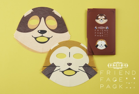 Rascal the Raccoon, Patrasche Face Pack