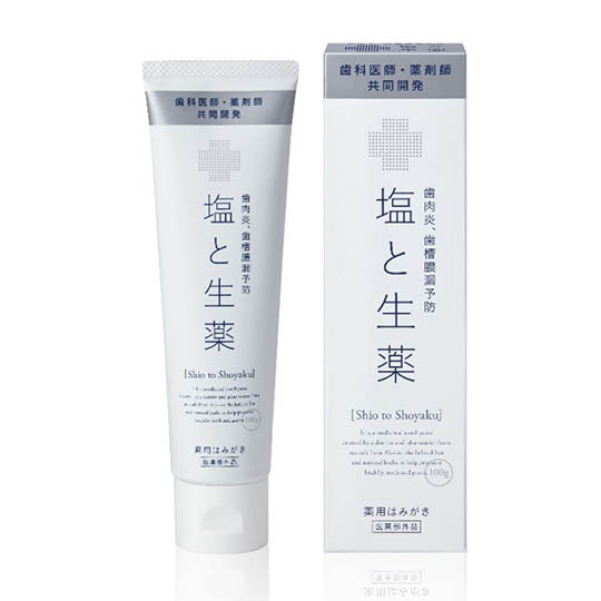 Shio to Shoyaku Salt and Crude Drug Medicinal Toothpaste
