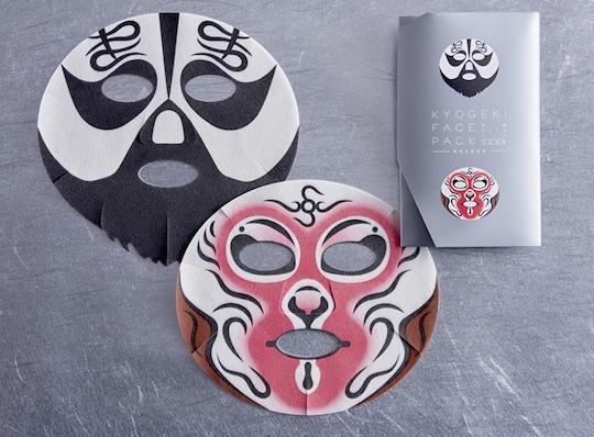 Kyogeki Peking Opera Face Pack Xiang Yu & Sun Wukong