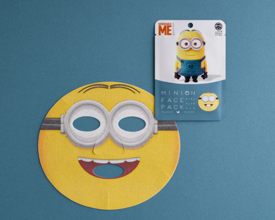 Minions Face Pack (Three Pack)