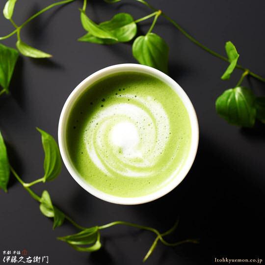 Ito Kyuemon Uji Matcha Green Tea Cappuccino