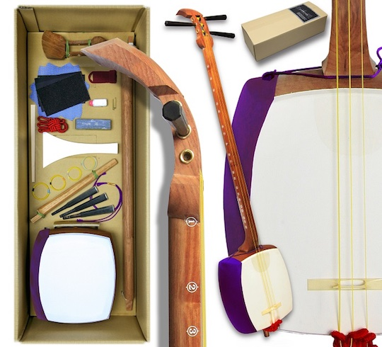 Self-Assembly Shamisen Kit