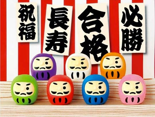 Traditional Japanese Items Eraser Set (Pack of 60)